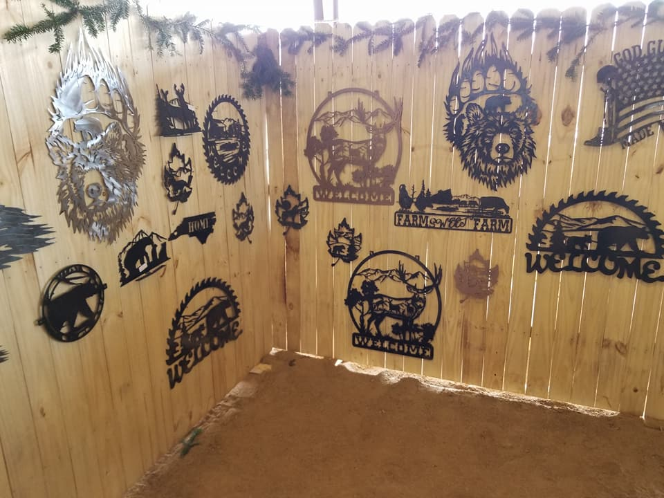 Metal Artwork Designs And Fabrications Flying Pig Signs